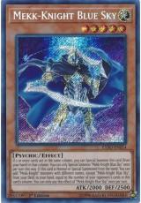 Mekk-Knight Blue Sky - EXFO-EN014 - Secret Rare