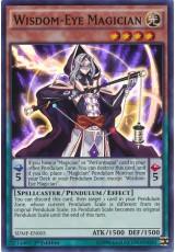 Wisdom-Eye Magician - SDMP-EN005 - Super Rare