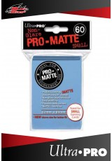 Deck Protector Ultra Pro Small (60 Sleeves) - Pro-Matte Light Blue