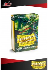 Deck Protector Dragon Shield Mini Matte (60 sleeves) - Apple Green