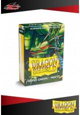 Deck Protector Dragon Shield Mini Matte (60 sleeves) - Apple Green