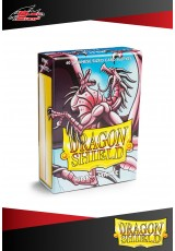 Deck Protector Dragon Shield Mini Matte (60 sleeves) - Pink