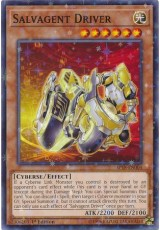 Salvagent Driver - SP18-EN004 - Starfoil Rare
