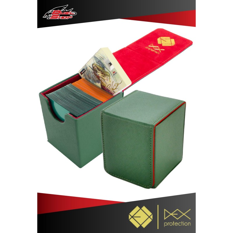 Deck Box Dex Protection Creation Line Small Green