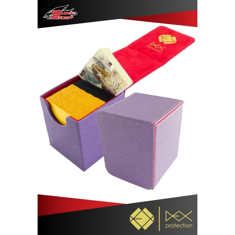 Deck Box Dex Protection Creation Line Small Purple