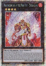 Brotherhood of the Fire Fist - Tiger King - CT11-EN001 - Platinum Secret Rare