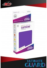 Deck Protector Ultimate Guard Supreme UX Japanese Size Matte (60 sleeves) - Purple
