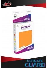 Deck Protector Ultimate Guard Supreme UX Japanese Size Matte (60 sleeves) - Orange