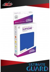 Deck Protector Ultimate Guard Supreme UX Japanese Size Matte (60 sleeves) - Blue