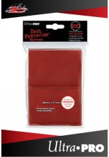 Deck Protector Ultra Pro Standard (100 Sleeves) - Red