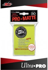 Deck Protector Ultra Pro Standard (50 Sleeves) - Pro-Matte Bright Yellow