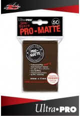Deck Protector Ultra Pro Standard (50 Sleeves) - Pro-Matte Brown