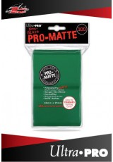 Deck Protector Ultra Pro Standard (100 Sleeves) - Pro-Matte Green