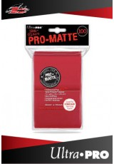 Deck Protector Ultra Pro Standard (100 Sleeves) - Pro-Matte Red