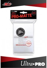 Deck Protector Ultra Pro Standard (100 Sleeves) - Pro-Matte White