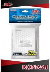 Deck Protector Oficial Konami - Clear (transparente) com 100 unidades