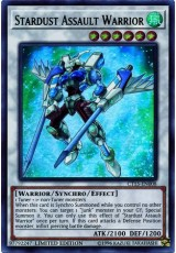 Stardust Assault Warrior - CT15-EN008 - Ultra Rare