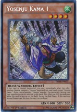 Yosenju Kama 1 - THSF-EN003 - Secret Rare
