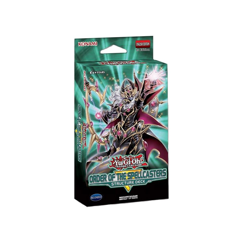 TCG Order of the Spellcasters Structure Deck YU-GI-OH