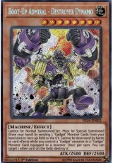 Boot-Up Admiral - Destroyer Dynamo - FIGA-EN002 - Secret Rare