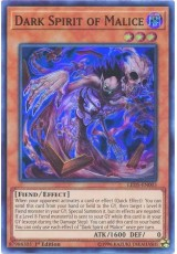 Dark Spirit of Malice - LED5-EN003 - Super Rare