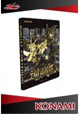 Pasta com 9 bolsos (180 cards) Oficial Konami - Golden Duelist Collection
