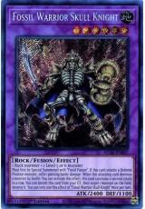 Fossil Warrior Skull Knight - BLAR-EN007 - Secret Rare