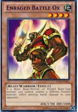 Enraged Battle Ox (Green) - DL15-EN002 - Rare