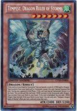 Tempest, Dragon Ruler of Storms - CT10-EN004 - Secret Rare