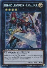 Heroic Champion - Excalibur - CT09-EN002 - Secret Rare