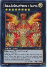 Hieratic Sun Dragon Overlord of Heliopolis - CT09-EN004 - Secret Rare