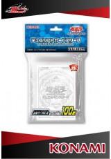 Deck Protector Oficial Konami - Link - Clear (transparente) com 100 unidades