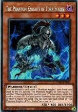 The Phantom Knights of Torn Scales - PHRA-EN003 - Secret Rare