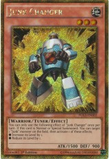 Junk Changer - PGL3-EN002 - Secret Gold Rare