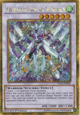 Stardust Charge Warrior - PGL3-EN005 - Gold Secret Rare