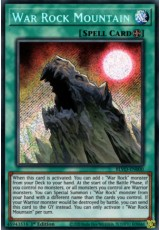 War Rock Mountain - BLVO-EN000 - Secret Rare
