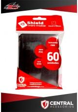 Central Shield Mini (60 Sleeves) - Preto