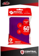 Central Shield Mini (60 Sleeves) - Roxo