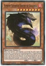 Supreme Sovereign Serpent of Golgonda - LIOV-EN004 - Super Rare