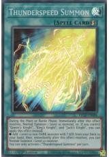 Thunderspeed Summon - KICO-EN006 - Super Rare