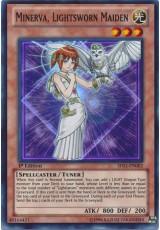 Minerva, Lightsworn Maiden - SDLI-EN002 - Super Rare