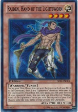 Raiden, Hand of the Lightsworn - SDLI-EN003 - Super Rare