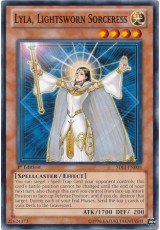 Lyla, Lightsworn Sorceress - SDLI-EN008 - Common
