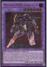 Masked HERO Dark Law - OP01-EN003 - Ultimate Rare