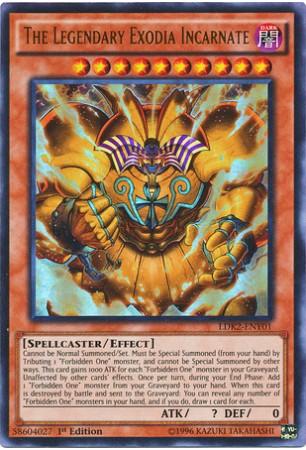 The Legendary Exodia Incarnate - YDK2-ENY01 - Ultra Rare