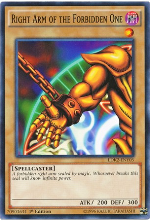 Right Arm of the Forbidden One - LKD2-ENY06 - Common