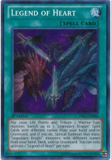 Legend of Heart - DRLG-EN006 - Secret Rare