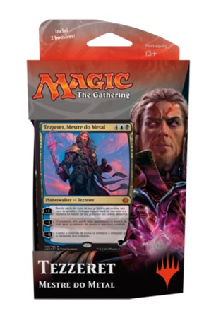 MTG Revolta do Éter Intro Pack Planeswalker - Tezzeret Mestre do Metal