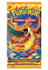 Pokémon XY2 Flash de Fogo Booster