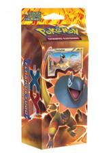 Pokémon XY2 Flash de Fogo Deck Inicial - Trovão Reluzente (Heliolisk)